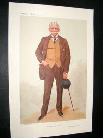 Vanity Fair Print 1906 General Sir George Luck